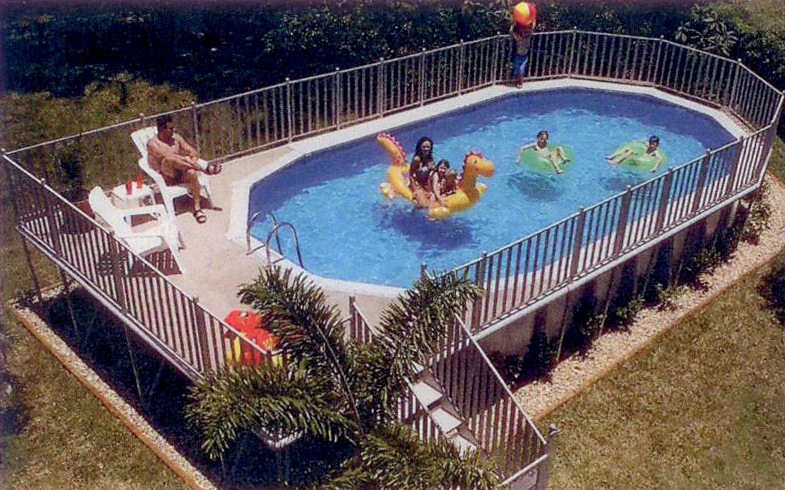 Above Ground Pool Dealers Central Florida Round Designs